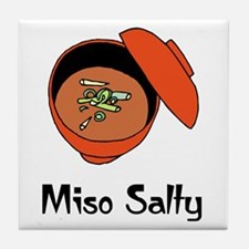 Miso Salty  Tile Coaster