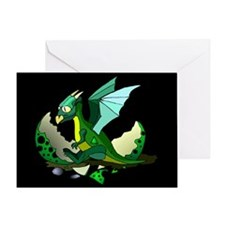 Dragon Hatching Greeting Card