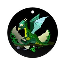 Dragon Hatching Ornament (Round)