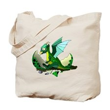 Dragon Hatching Tote Bag