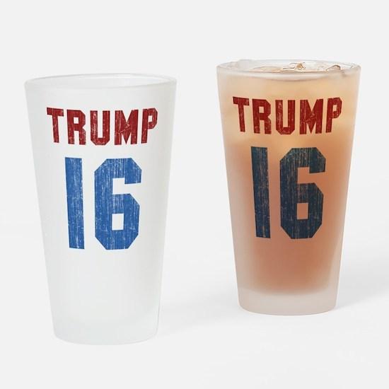 Donald Trump 2016 Drinking Glass