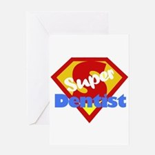 Super Dentist DDS Greeting Card