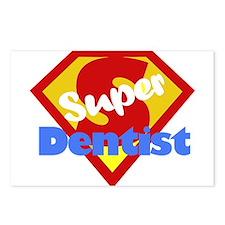 Super Dentist DDS Postcards (Package of 8)