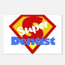 Super Dentist DDS Postcards (Package of 8)