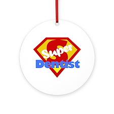 Super Dentist DDS Ornament (Round)