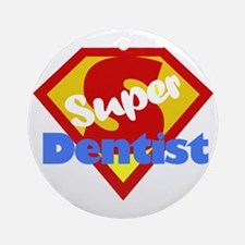 Super Dentist DDS Ornament (Round)