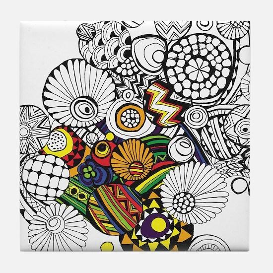 Sketch 1a Tile Coaster