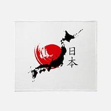 Japan Throw Blanket