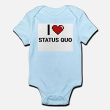 I love Status Quo Digital Design Body Suit