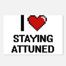 I Love Staying Attuned Di Postcards (Package of 8)