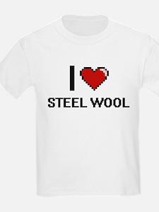 I love Steel Wool Digital Design T-Shirt