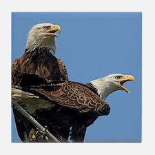 Eagle Parents Tile Coaster