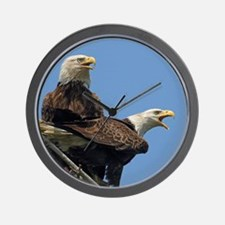Eagle Parents Wall Clock