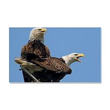 Eagle Parents Car Magnet 20 x 12