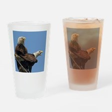 Eagle Parents Drinking Glass