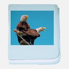 Eagle Parents baby blanket