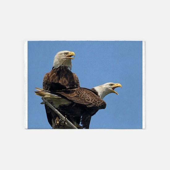 Eagle Parents 5'x7'Area Rug