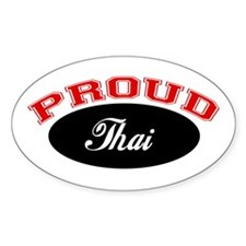 Proud Thai Oval Decal