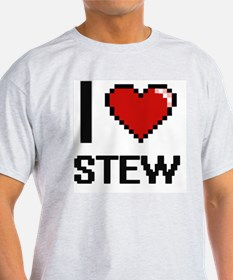 I love Stew Digital Design T-Shirt