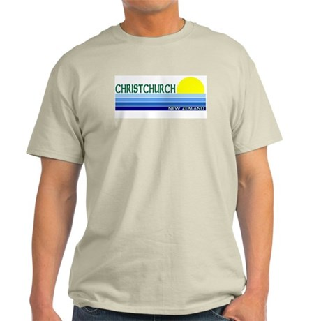 Christchurch, New Zealand Light T-Shirt