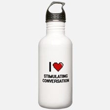 I love Stimulating Con Water Bottle