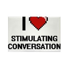 I love Stimulating Conversation Digital De Magnets