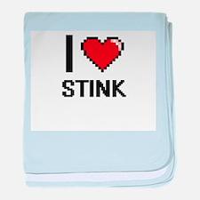 I love Stink Digital Design baby blanket