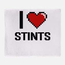 I love Stints Digital Design Throw Blanket