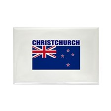 Christchurch, New Zealand Rectangle Magnet