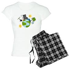 Urban Girl Vector Illustrat pajamas