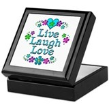 Live love laugh Keepsake Boxes