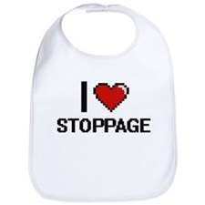 I love Stoppage Digital Design Bib