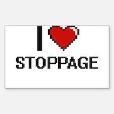 I love Stoppage Digital Design Decal