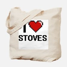 I love Stoves Digital Design Tote Bag