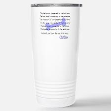 Unique Ortho doctor Travel Mug