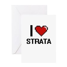I love Strata Digital Design Greeting Cards