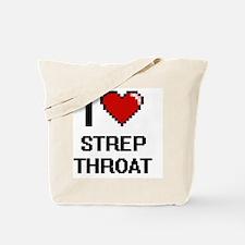 I love Strep Throat Digital Design Tote Bag