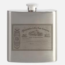 Philadelphia & Erie Land Flask