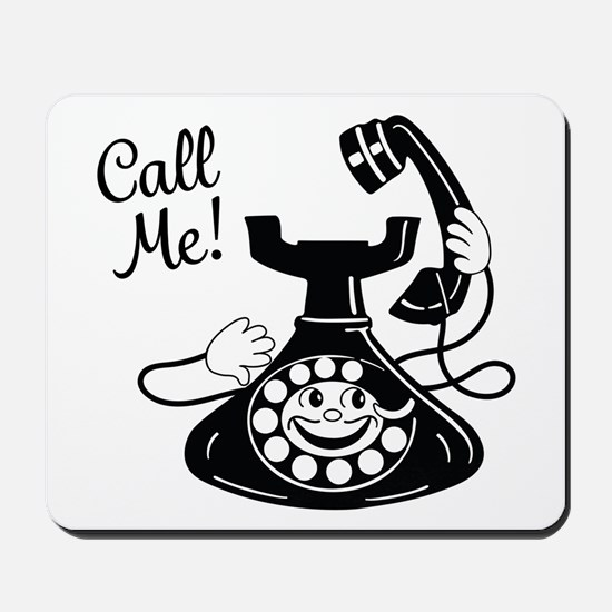 Vintage Telephone Mousepad
