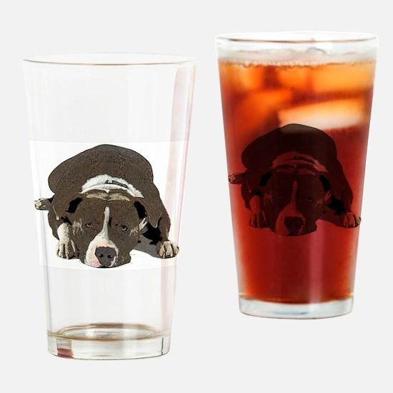 Unique Staffordshire Drinking Glass