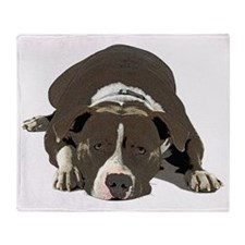 Unique Staffordshire terrier Throw Blanket