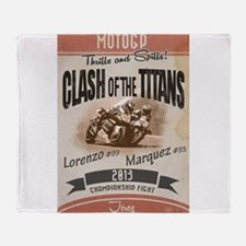 Clash of the Titans Throw Blanket