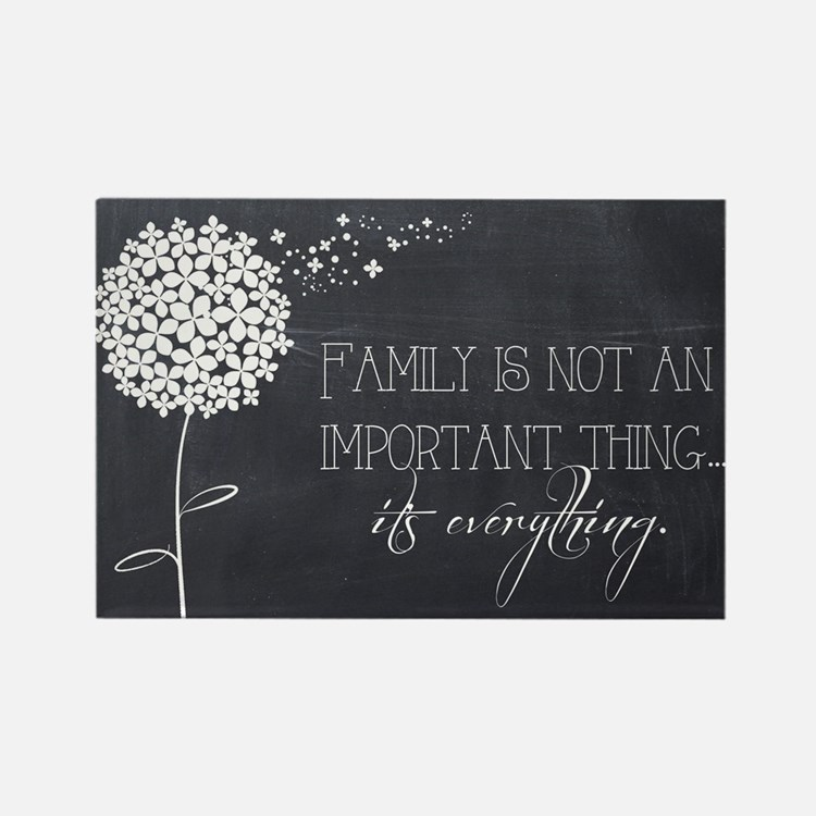Cute Family Rectangle Magnet (10 pack)