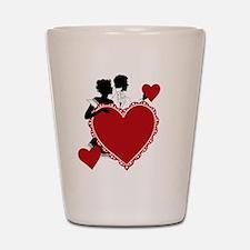 Love and Romance Shot Glass