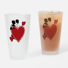 Love and Romance Drinking Glass