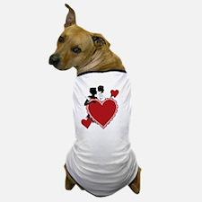 Love and Romance Dog T-Shirt
