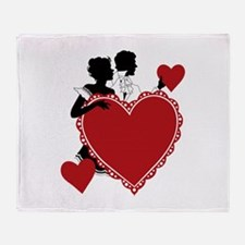 Love and Romance Throw Blanket