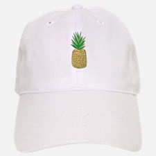 Pineapple Fruit Illustration Baseball Baseball Baseball Cap