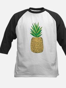 Pineapple Fruit Illustration Baseball Jersey