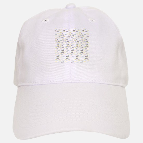 Dashed Line Illustration Pattern Baseball Baseball Baseball Cap